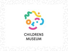 Children's museum designed by Brainstorm . Connect with them on Dribbble; the global community for designers and creative professionals. Museum Branding, Logo Branding, Branding Design, Packaging Design, Childrens Logo, Charity Branding, Type Logo, Web Design, Kids Graphic Design
