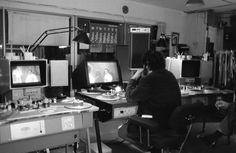 Kubrick editing Barry Lyndon