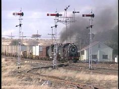 For five days in the South African railways featured their steam locomotives on their mainline from Kimberly to De Aar in a celebration called the Grea. South African Railways, Grey Wallpaper Iphone, Old Steam Train, Steam Railway, Steam Engine, Steam Locomotive, Landscape Photographers, Bellisima, Trains