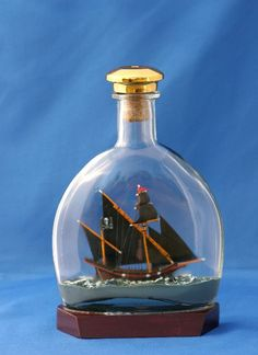 Pirate Matador Ship - Ships in Bottles and Special Models