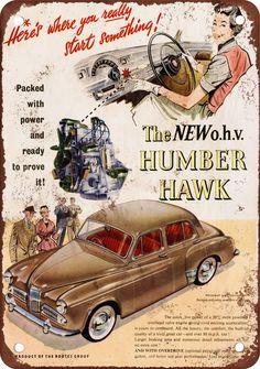 The new o.h.v. humbler Hawk