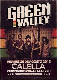 30 DE AGOSTO GREEN VALLEY EN CALELLA CHIRINGUITO ZONA 6 A LAS 22:00