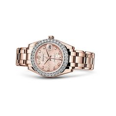 Rolex Pearlmaster Watch - Rolex Swiss Luxury Watches ❤ liked on Polyvore featuring jewelry, watches, rolex, rolex wrist watch, rolex watches and rolex jewelry