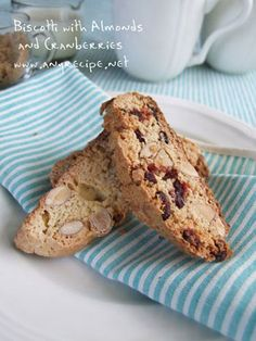 Almond Biscotti I have to try this!