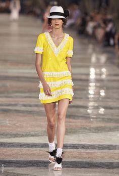 Amarelo | Chanel | VERÃO18 | Tendência | RVB Malhas