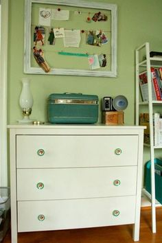cute pulls on ikea dresser