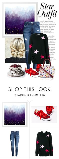 """""""lucky stars"""" by theworldisatourfeet ❤ liked on Polyvore featuring Givenchy, polyvoreeditorial and StarOutfits"""
