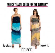 matfashion Tie&Dye dresses