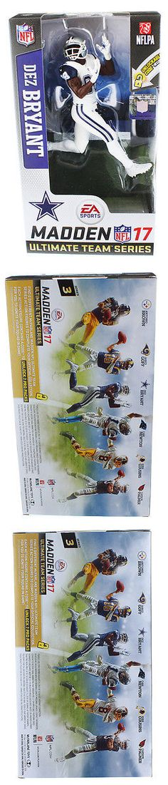 Sports 754: Dallas Cowboys, Dez Bryant (Chase) Madden Nfl 17 Series 3 Ultimate Team Figure -> BUY IT NOW ONLY: $68.99 on eBay!