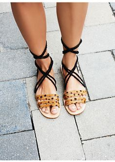 Oh. My. Gosh. These are the cutest pair of wrap sandals we have ever seen. Get These Cabin And Cove Hemingway Wrap Sandals On ShopStyle!