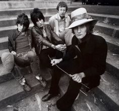 Jeff Beck Group featuring Rod Stewart and Ronnie Wood, c 1967.