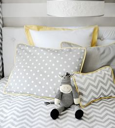 Chevron Bedding in the Nursery or Toddler Room | Project Nursery