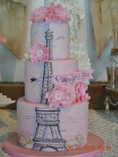 SUPER CUTE Eiffel Tower!  If I get this for my birthday, my BFF would be totally jealous!