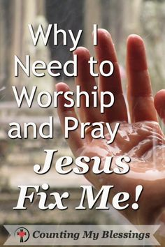 You and I live in a grace for me and judgment for you culture ... today I'm asking - Jesus fix me. Help me love like You!