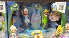 Tinker Bell Toys Dolls from Secret of the Wings Periwinkle Disney Fairies