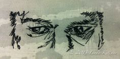 LINDA KITTMER'S FIBRE ART, PHOTOGRAPHY & JOURNALLING: More Thread Sketched Faces...