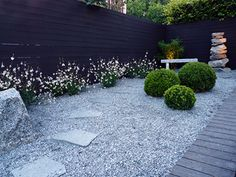 Japansk rofylld hörna i din trädgård? Small Gardens, Outdoor Gardens, Landscape Design, Garden Design, Gravel Landscaping, Raised Planter, Garden Projects, Garden Inspiration, Plants