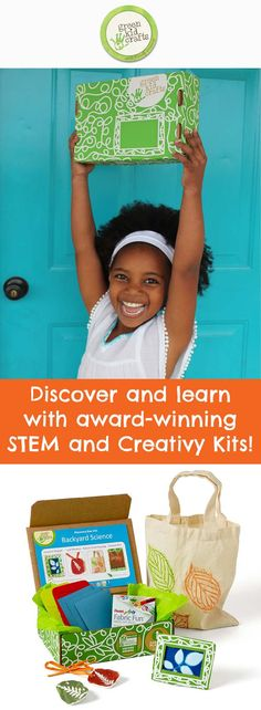 Join Green Kid and receive monthly, award-winning STEM and Creativity Kits! Save 25% on your 1st month with code PINTEREST25! Offer available through May 30, 2015.