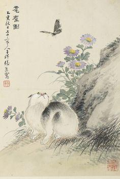 Ren Yi 1840-1896; Ren Xun 1835-1893; Zhang Xiong 1803-1886; et al   Lot   Sotheby's