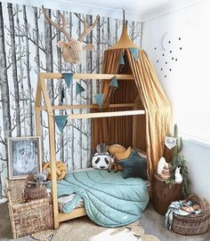Amazing A dream kid's bedroom - PLANETE DECO has homes world - Best Decoration ideas for the home Kids Bedroom Dream, Baby Bedroom, Baby Boy Rooms, Nursery Room, Girls Bedroom, Kid Bedrooms, Toddler Rooms, Nursery Ideas, Bedroom Ideas