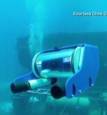 A new submersible robot called OpenROV -- sort of an underwater drone -- could open up undersea exploration