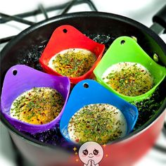 1 pcs Silicone Fried Fry Egg Bowl Egg Rings Pancake Oven Egg Poach Breakfast Egg Mold Kitchen Tools Gadgets Free Shipping 1836