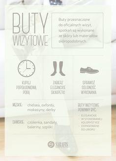 Buty wizytowe - synonim elegancji i luksusu.  #infografika