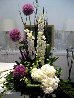floral arrangements with alliums - Google Search
