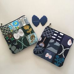 Beauty Case, Textiles, Patchwork Patterns, Pouch, Wallet, Handicraft, Needlepoint, Purses And Bags, Diy Home Decor