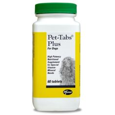 Pet-Tabs Plus Supplement for Dogs * To view further for this item, visit the image link. (This is an affiliate link and I receive a commission for the sales)