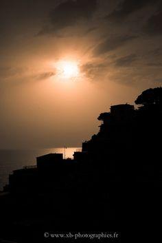 Sunset on Riomaggiore