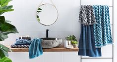 Shopping: Ocean-inspired, jewel-tone home accessories by Bed Bath N' Table