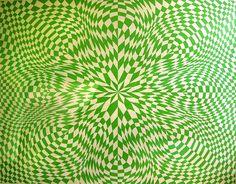 Green Optical Illusion