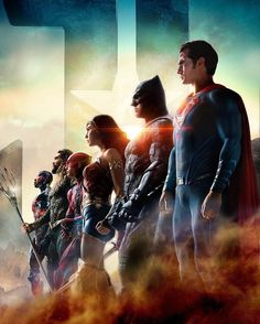 "4,330 Likes, 15 Comments - DC Extended Universe Feed (@dceufeed) on Instagram: ""Justice for all. - Poster by @aldebaranmika #JusticeLeague #UniteTheLeague"""