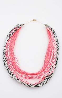 hand-printed fabric necklace ($36) by thiefandbandit (h/t @elise blaha cripe)