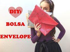 Miss Sainha | Blog de moda para evangélicas: DIY: Bolsa Envelope