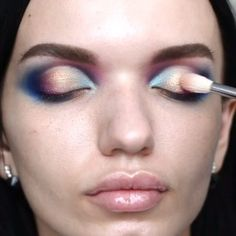 Jawdropppp!!! The blend of colours @elena_sinyak