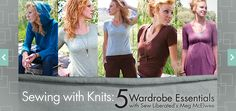 """Learn How To Sew Knit Fabric in """"Sewing with Knits"""", a Craftsy Class"""