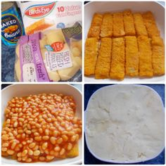 Northumberland Mam: Fish Finger Pie..... Fish Finger, Best Seafood Recipes, Digestive Biscuits, Work Meals, Family Meals, Family Recipes, I Want To Eat, Fish And Seafood, Graham Crackers
