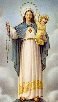 ♕ Blessed Virgin Mary of the Rosary