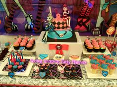 """Photo 6 of 23: Monster High / Birthday """"Cumple Temático Monster High"""" 