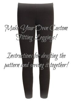 DIY Leggings Tasha Delrae