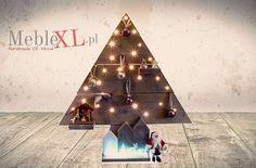 Onze kerstboom met lampjes