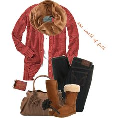 w/o the shoes, maybe w/ my brown coach boots/brown&gold flats