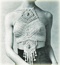 70s macrame fashion to match your planter - CT09031463-13