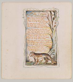 William Blake: Songs of Innocence and of Experience: The Tyger (Plate 42) (17.10.42) | Heilbrunn Timeline of Art History | The Metropolitan Museum of Art