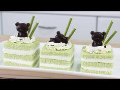 How to Make Rilakkuma Matcha Cakes! - http://showatchall.com/craft/how-to-make-rilakkuma-matcha-cakes/