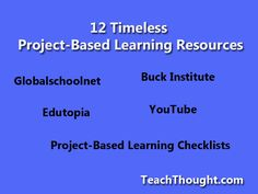 12 PBL Resources