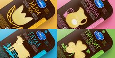 Valio Cheese Collection Redesigned on Packaging of the World - Creative Package Design Gallery