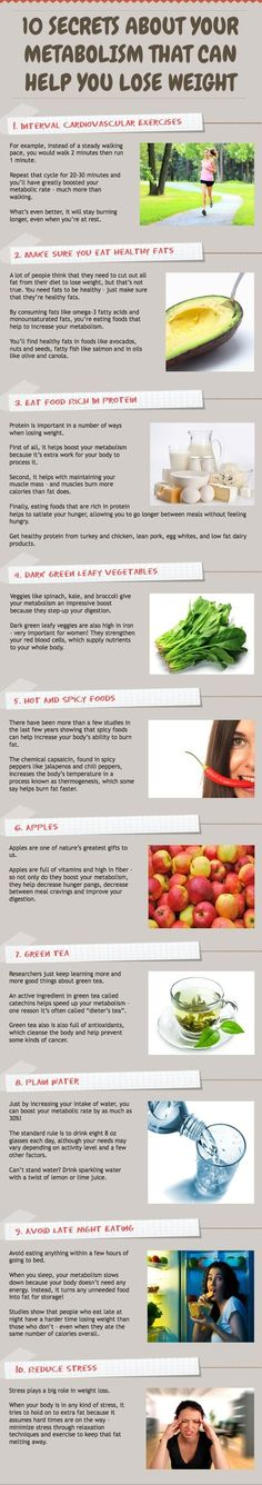 Easy ways to boost metabolism.